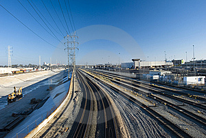 Tracks Stock Photos - Image: 6166423