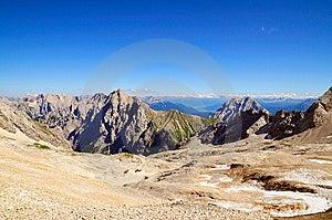 Zugspitze Plateau Stock Photo - Image: 6168390
