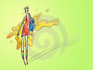 Menina Elegante Fotografia de Stock - Imagem: 6169282