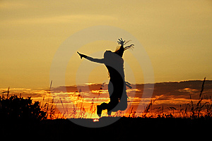 Άλμα Στοκ Εικόνες - εικόνα: 6170074