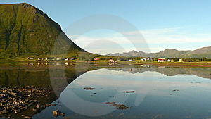 Lofoten's Wine Glass Royalty Free Stock Images - Image: 6177299