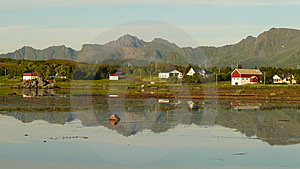 Lofoten' Summer Night Royalty Free Stock Images - Image: 6177359