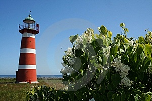 Lighthouse From Sweden Gotland Royalty Free Stock Image - Image: 6180616