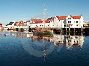 The Lofoten's Canal Grande Royalty Free Stock Photo - Image: 6185375