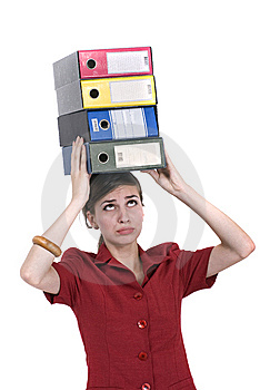 Registers On Head Royalty Free Stock Photo - Image: 6186285