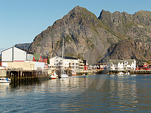 Henningsvaer In Lofoten Stock Images - Image: 6187324
