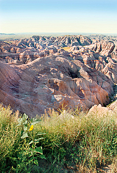 Badlands Royalty Free Stock Photo - Image: 6188385