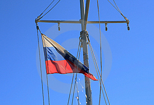 Flag Of Russia Stock Image - Image: 6191171
