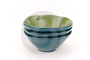 Turquoise Bowls Stock Photo - Image: 6191270