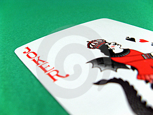 Joker Fun Poker Gambling Lucky Card Royalty Free Stock Photos - Image: 6194628