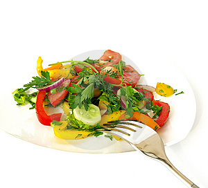 Freshness Vegetarian Salad Stock Photography - Image: 6195252