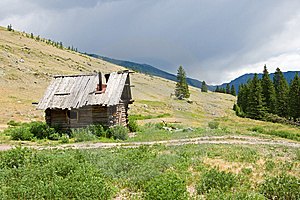 Deserted House Royalty Free Stock Images - Image: 6196119