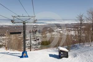 Ski Lift Stock Photography - Image: 621352