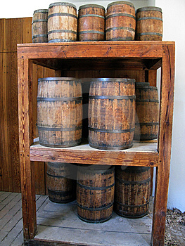 Wooden Barrels Stock Photography - Image: 6201862