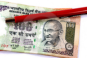 Rupees Stock Images - Image: 6202894
