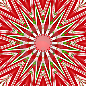 Christmas Star Mandala Royalty Free Stock Photography - Image: 6208757