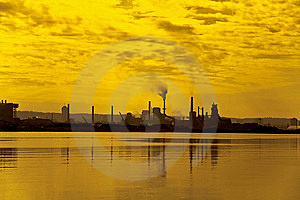 Heavy Industry Royalty Free Stock Images - Image: 6211889