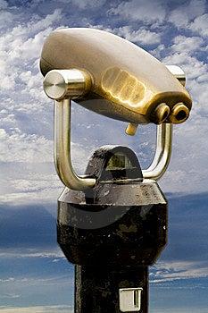 Coin Binoculars Stock Photography - Image: 6212352