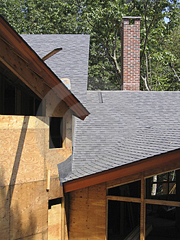 Roof-line And Chimney - 1 Stock Photography - Image: 6212452