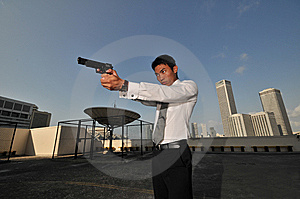 Agent/ Killer 54 Stock Photos - Image: 6214873