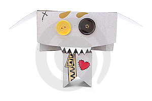 Funny Toothy Toy Royalty Free Stock Photo - Image: 6215665