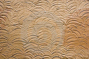 Brown Stucco Design Stock Photos - Image: 6216733