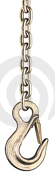 Chain And Hook 2 Royalty Free Stock Image - Image: 6217536