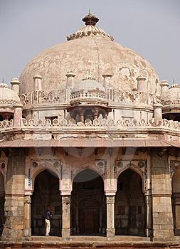 Isa Khan Tomb Enclosure Stock Photos - Image: 6219563