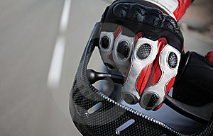 Biker Glove Royalty Free Stock Image - Image: 6221306