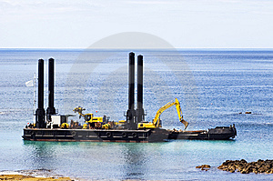 Dredger Stock Photos - Image: 6221553
