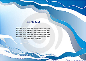 Elegance Pattern Of A Presentation Leaflet Royalty Free Stock Photo - Image: 6221915