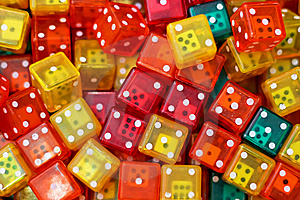 Dices Stock Images - Image: 6222704