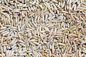 Organic Brown Rice 2 Royalty Free Stock Photo - Image: 6224615