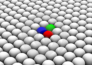 Rgb Spheres Stock Images - Image: 6224794