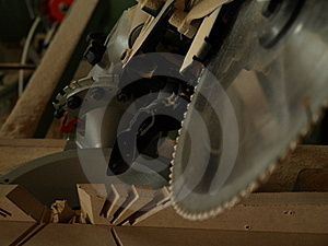 Circular Saw Royalty Free Stock Photo - Image: 6228545