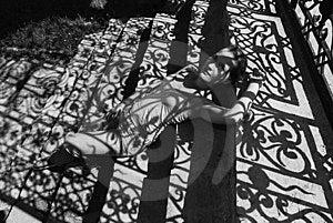 Muchachas Sombrías Imagenes de archivo - Imagen: 6228774