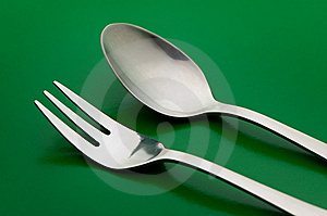 Fork And Spoon Royalty Free Stock Images - Image: 6229699