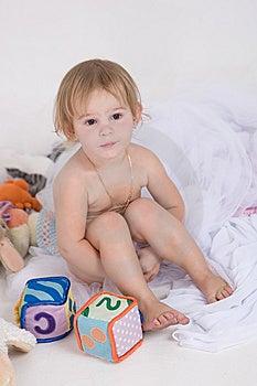 Weinig Naakt Meisje Stock Foto's - Afbeelding: 6231183