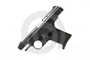 Black Gun Royalty Free Stock Photos - Image: 6232628