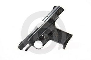 Black Gun Royalty Free Stock Photos - Image: 6232628