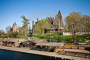 Boldt Castle Royalty Free Stock Photo - Image: 6235555