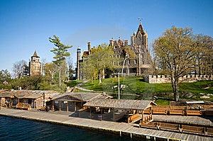Boldt Castle Royalty Free Stock Photo - Image: 6235555