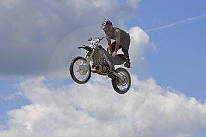Stunt Biker Stock Image - Image: 6236411