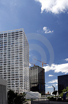 Beijing's Modern Buildings Stock Images - Image: 6238674