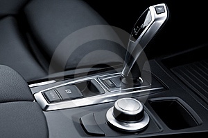 Gear-change Lever Royalty Free Stock Image - Image: 6238996