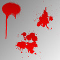 Blood splats