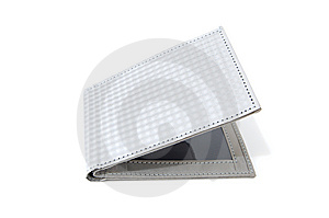 Compact Thin Grey Wallet Royalty Free Stock Photography - Image: 6246707