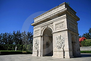 Arch Of Triumph In China Royalty Free Stock Photos - Image: 6259258