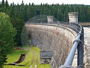 Dam Reservoir Stock Image - Image: 6260161