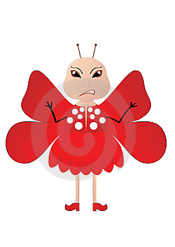 Red Butterfly Stock Image - Image: 6260471